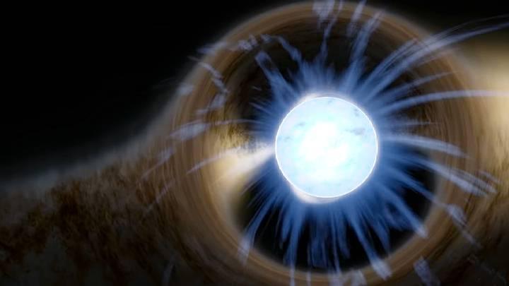 Rayos X, estrella de neutrones.
