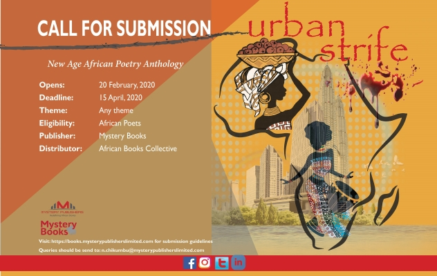 Call for Submission | Sketches of Urban Strife: An Anthology of New Age African Poetry