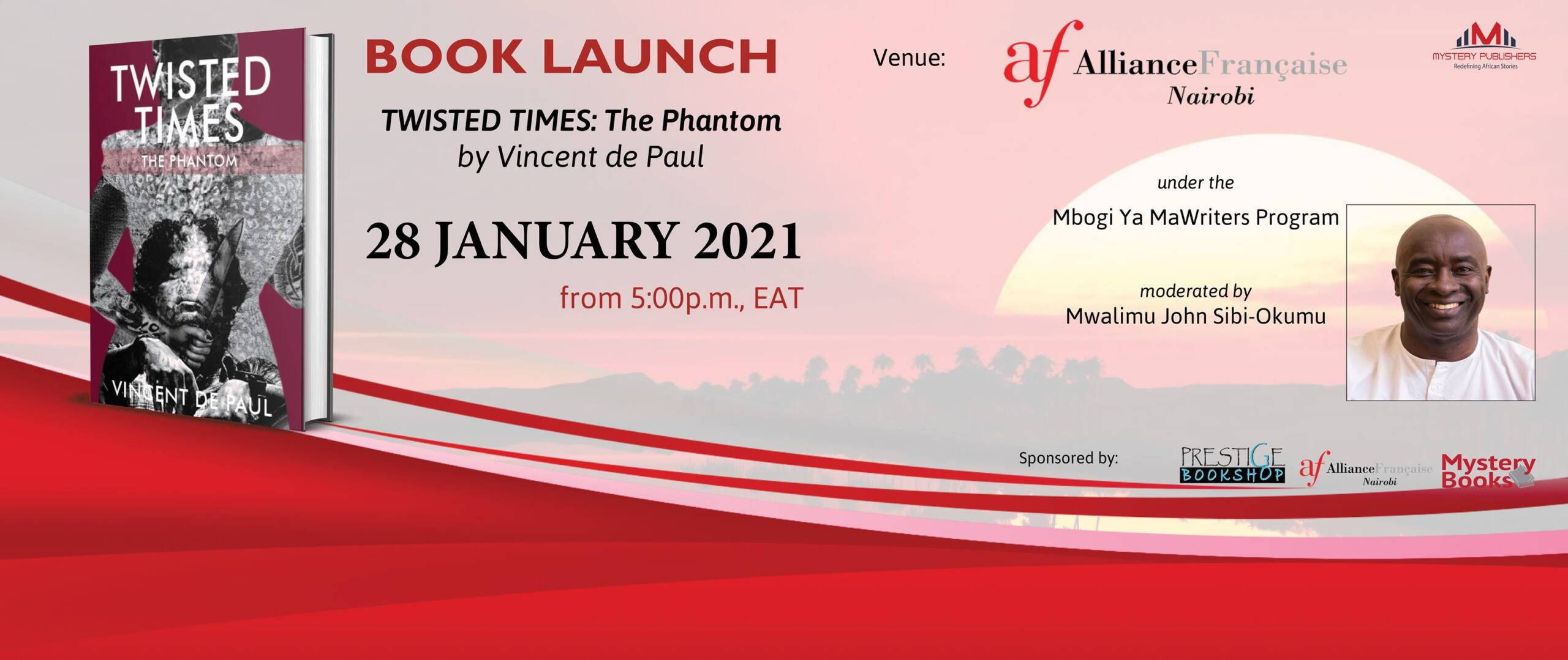 Book Launch   Twisted Times: The Phantom