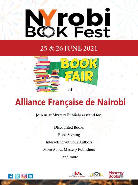 NYRobi Book Fest for Kenyan Books and Authors at the Alliance Française de Nairobi
