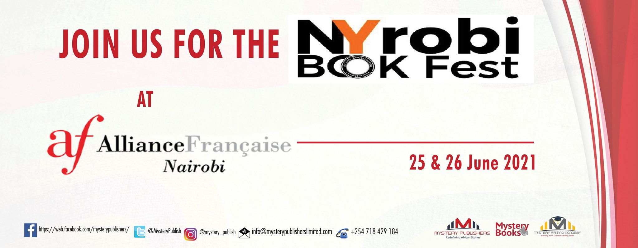 NYrobi Book Fest for Kenyan Books and Authors