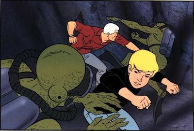 Image result for jonny Quest villains