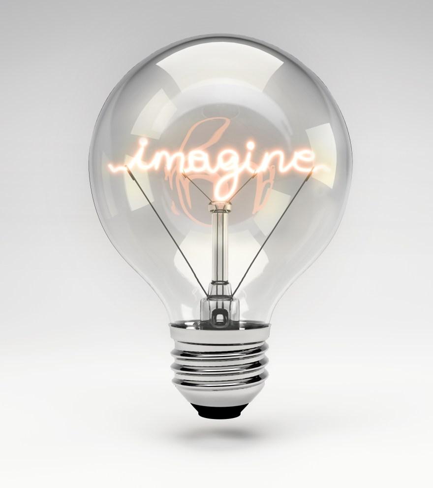 Conceptual Light Bulb (Set) - Imagine
