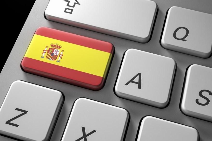 Spain button