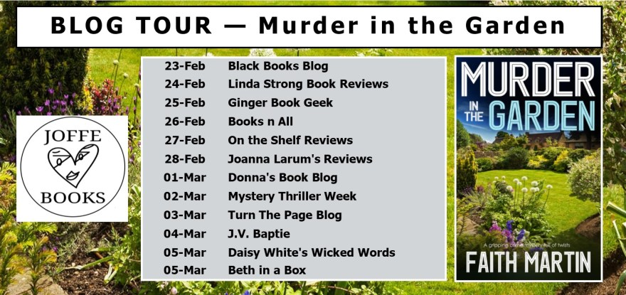 BLOG TOUR BANNER - Murder in the Garden v3
