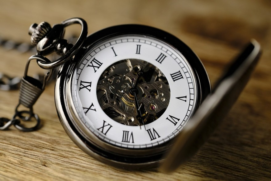 Watch old school pocket watch