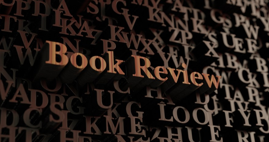 Book Review - Wooden 3d rendered letters/message