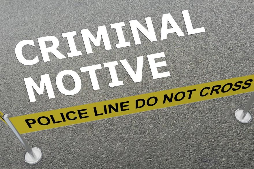 Criminal Motive concept