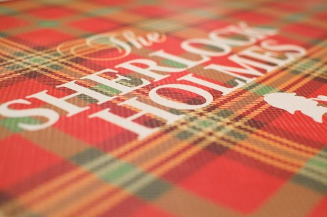Sherlock Holmes on spread image red
