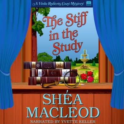 Stiff in the study image Viola Roberts book 2