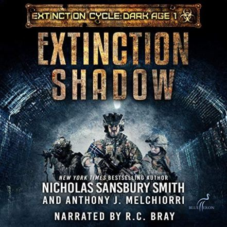 Extinction Shadow Dark Age Audiobook image