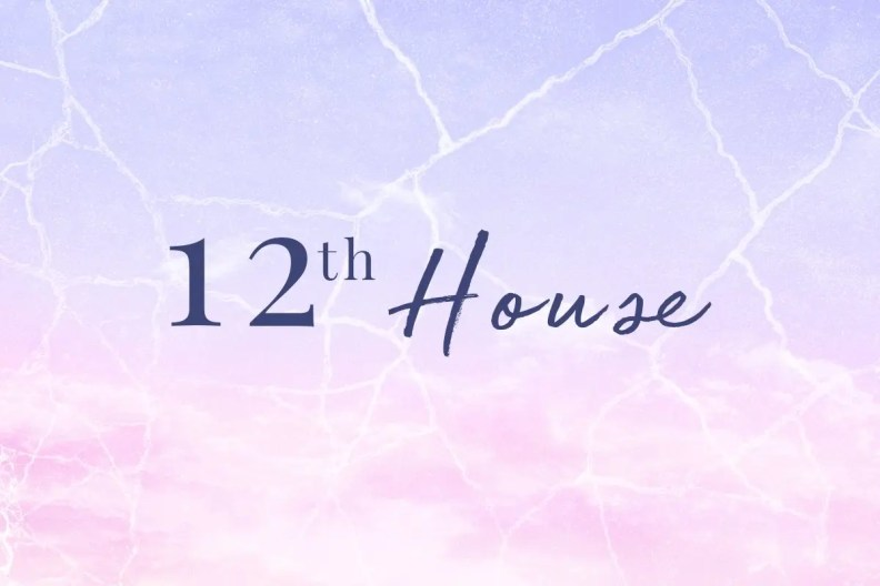 Pluto in the twelfth house in astrology