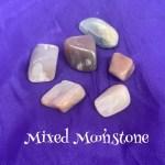 Mixed Moonstone Tumbled