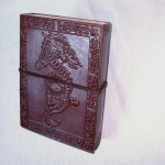 Leather Bound Journal Dragon