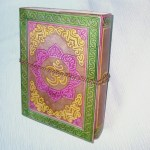 Leather Bound Journal Ohm Coloured