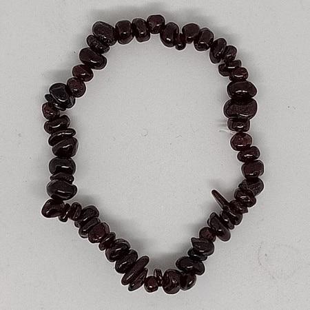 crystal chip bracelet Garnet