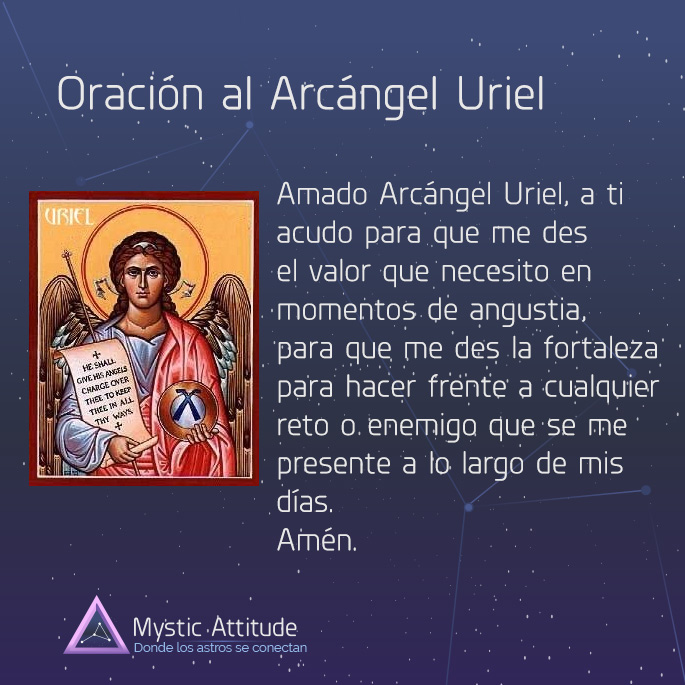 Uriel el Arcngel de la paz  Mystic Attitude
