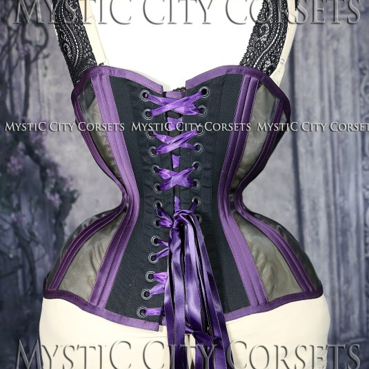 MCC63 Purple & Black with Mesh-791