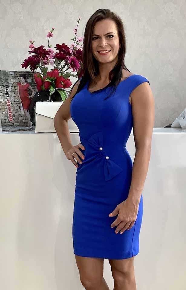 0367 Mystic Day Borbála kék ruha
