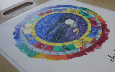 All About Your Hand Painted Natal Chart