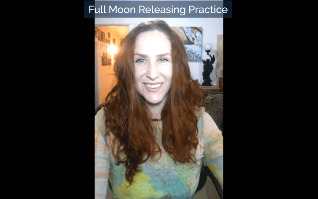 Full Moon in Leo Releasing Practice