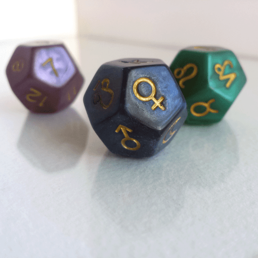 astrology dice 1