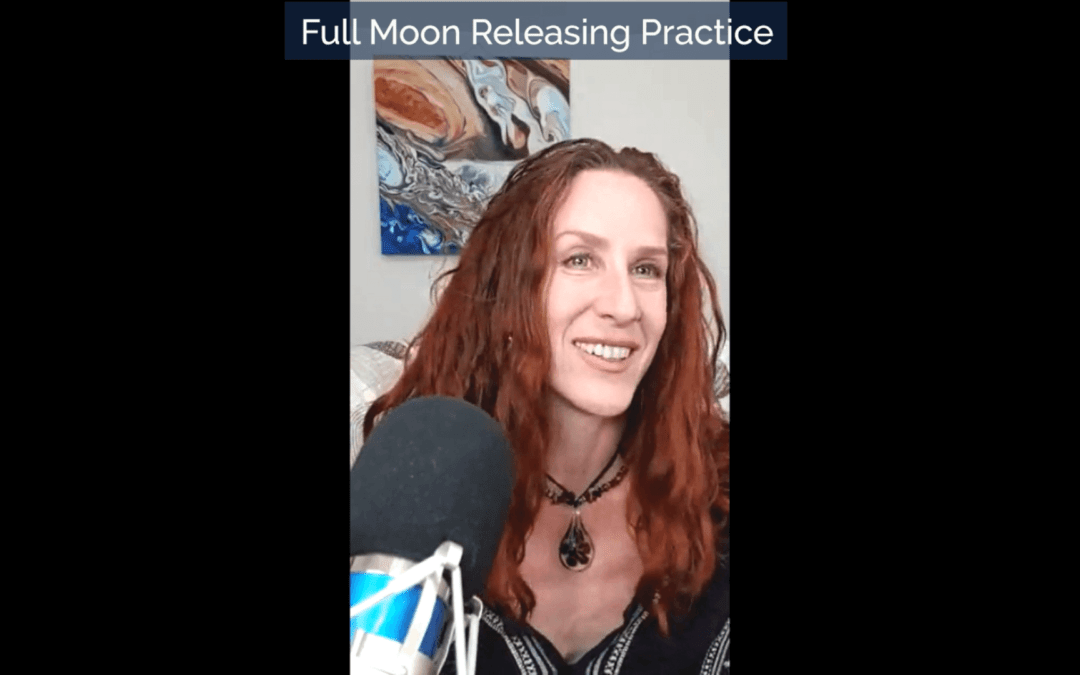 Full Moon in Aquarius Releasing Practice