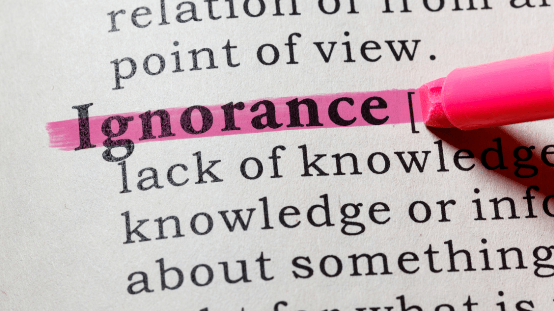 Ignorance Quotes in Hindi by Mysticmind