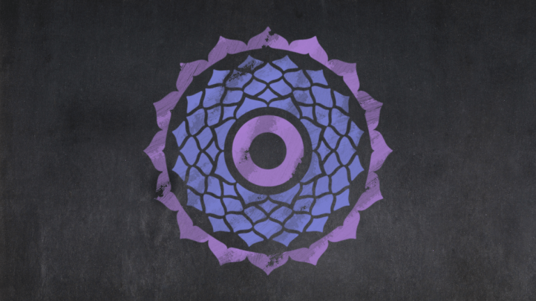 Crown Chakra Image and Chakra Meditation Benefits