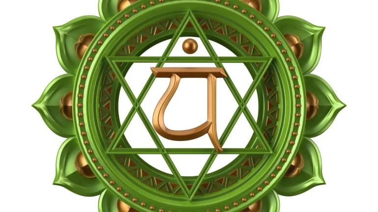 Heart Chakra Mantra Image and Chakra Meditation Benefits