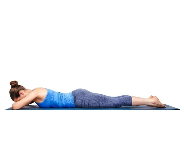Makarasana Yoga Pose Images