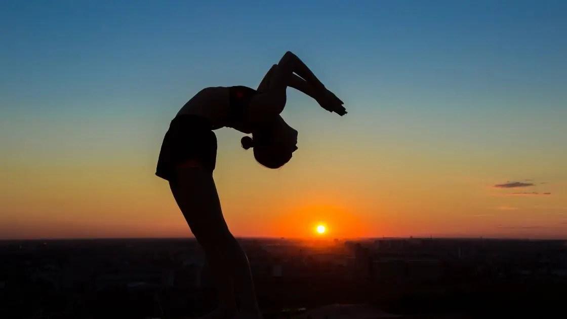 Chakrasana Yoga Images