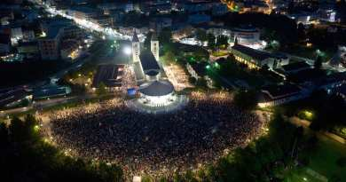 "Thank God for the Rock that is Medjugorje at a Time of yet Another Clerical Sex Abuse Crisis… Youth Festival Opens with 50,000 Young Voices. These our the Apostles for Our Lady who Love the Catholic Church and our the ""Hope of the World"""