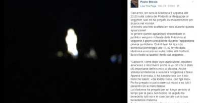 Mysterious Photo of Virgin Mary on Apparition Hill in Medjugorje posted on Facebook by Famous Journalist Stirs the Internet