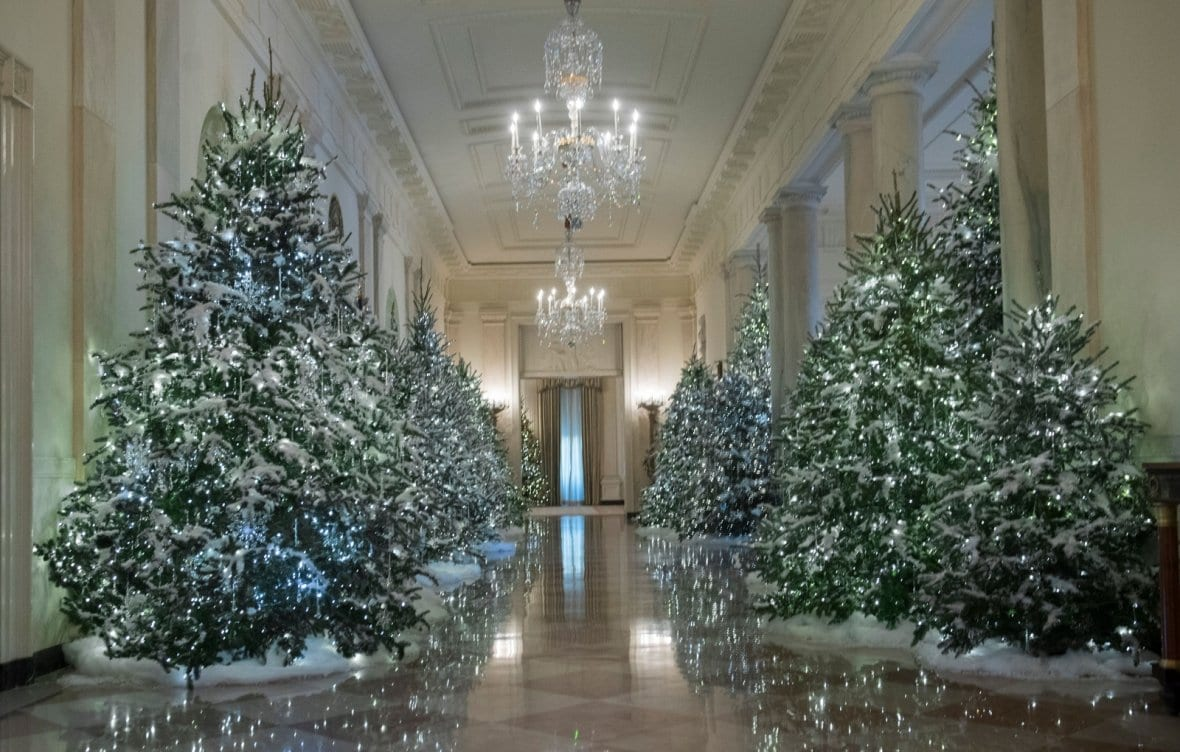 Milania Trump Brings Christmas Back To White House In Epic