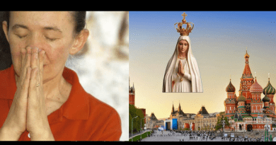 "Hints of Secrets…Medjugorje Visionary Vicka:  ""Russia will certainly be converted!"" Links Medjugorje to Fatima"