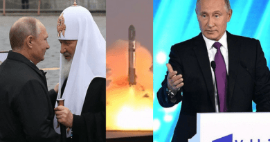 """Putin's FINAL warning to the West?  ..Head of Russian Orthodox Church talks of  """"end of the world is near"""" … Tells Putin events """"Already visible to the naked eye"""""""