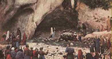 "160 years ago, on this day, the first Miracle took place in Lourdes…God offers a ""Helping Hand"""