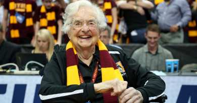 98 Year old Nun Heading to the Final 4 As Chaplin for Loyola-Chicago's Basketball Team.