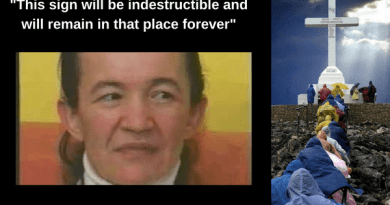 "Medjugorje – Exasperated Vicka Reveals: 'Here is the great sign that Our Lady has promised us'. ""I know when the permanent sign will be revealed."""