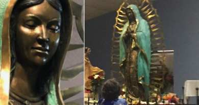 Signs: Fox News Reports – Our Lady of Guadalupe Catholic Church miracle? Virgin Mary statue appears to 'weep' olive oil – Smell of Roses