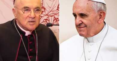Report: Strange Times…Archbishop Viganò Goes into Hiding After His Bomb Shell Letter Accusing Pope of Cover Up