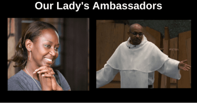 "Fr. Leon's Extraordinary Encounter with the Virgin Mary as Told by Immaculee….  ""I am your Mother and the Mother of God. I want you to tell everyone you meet that I am their Mother and I love them.""…"