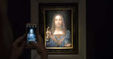 "Fascinating Details of the Most Expensive Painting on Earth…How the $450 Million Da Vinci Masterpiece ""The World's Savior"" Was Re-Discovered"