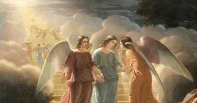 "Medjugorje. The visionary Marija: ""She came with many Angels, small and large. When Our Lady is sad the Angels are sad."""