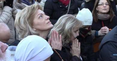 "Our Lady at Medjugorje Warns:  ""Bad things happen today wars, murders, suicides, divorces, abortions, drugs are caused by non-believers."""