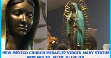 Virgin Mary statue of Our Lady of Guadalupe in New Mexico  'weeping' again – Video of Miracle