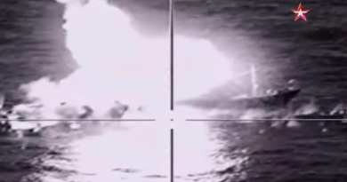 Video: Russia fires first coastal SUPERSONIC missile defence launch -Blows Up Fleet of Boats in Test