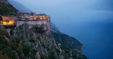 """Scisim…Russian Christians Forbidden to Pray on Mount Athos, Holiest Site in the Orthodox Church…Virgin Mary Discovered Island…In Apparition said """"This mountain I have chosen out of all the earth."""""""