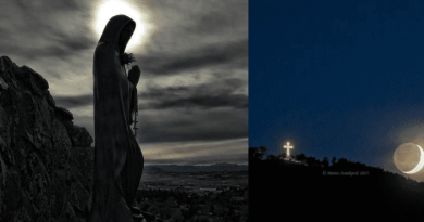 """October 19, 2018 Message to Ivan on Apparition Hill…""""Accept God's will with love."""""""
